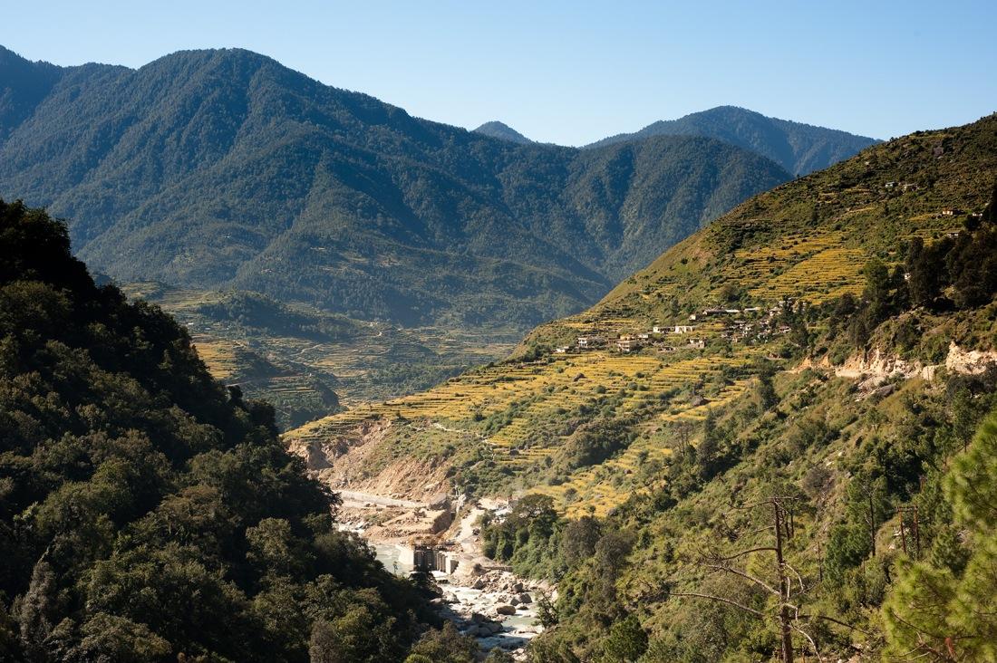 On the trail to Ghuttu, Uttarakhand, India. Trek Day 22