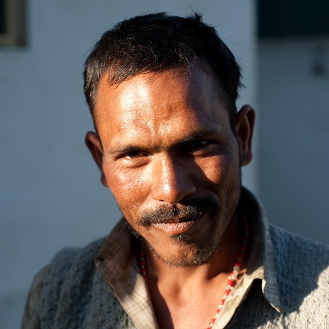 Pram, one of our porters, at Ghuttu on our last day.