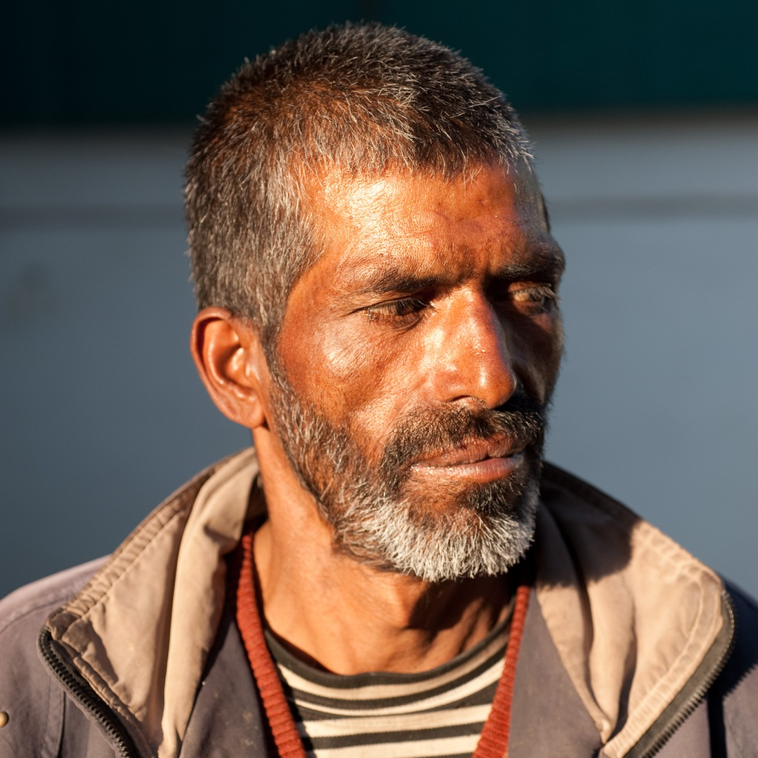 Naryan, one of our porters, at Ghuttu on our last day.