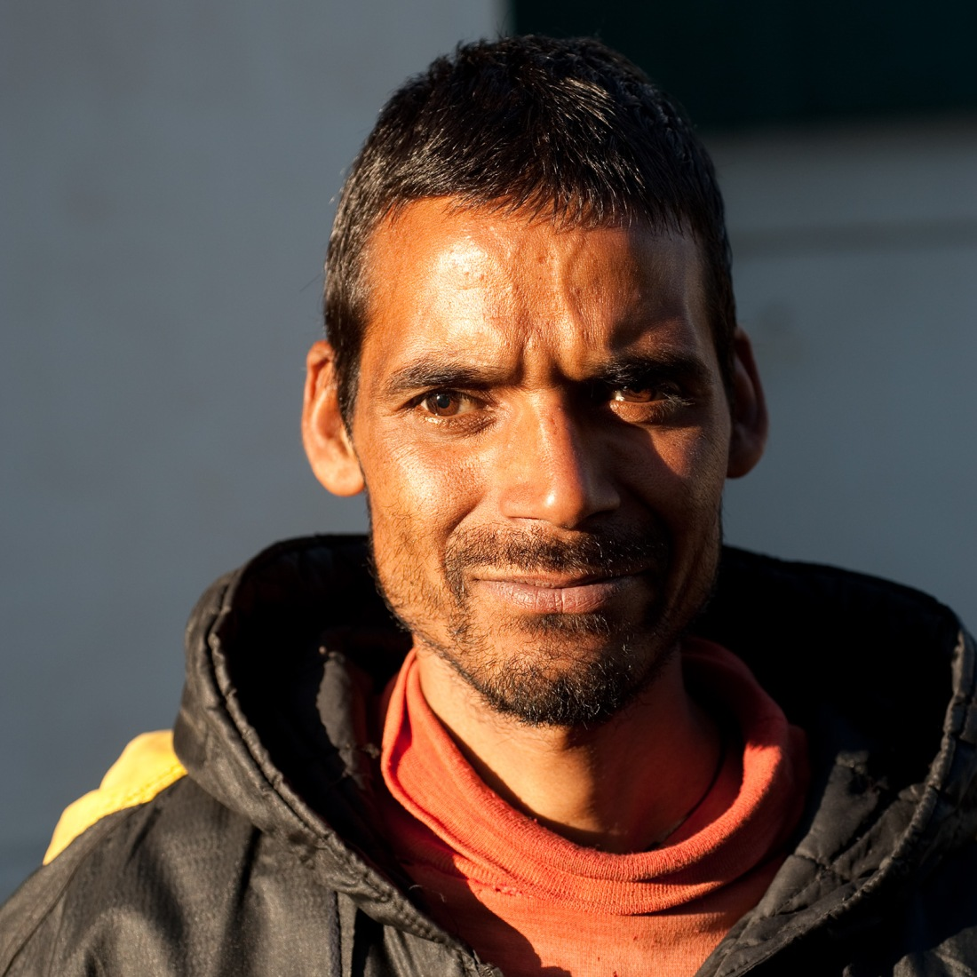 Bahagaan, one of our porters, at Ghuttu on our last day.