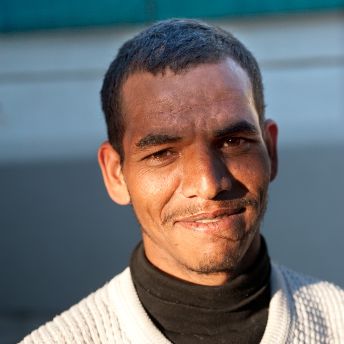 Ramesh, one of our porters, at Ghuttu on our last day.