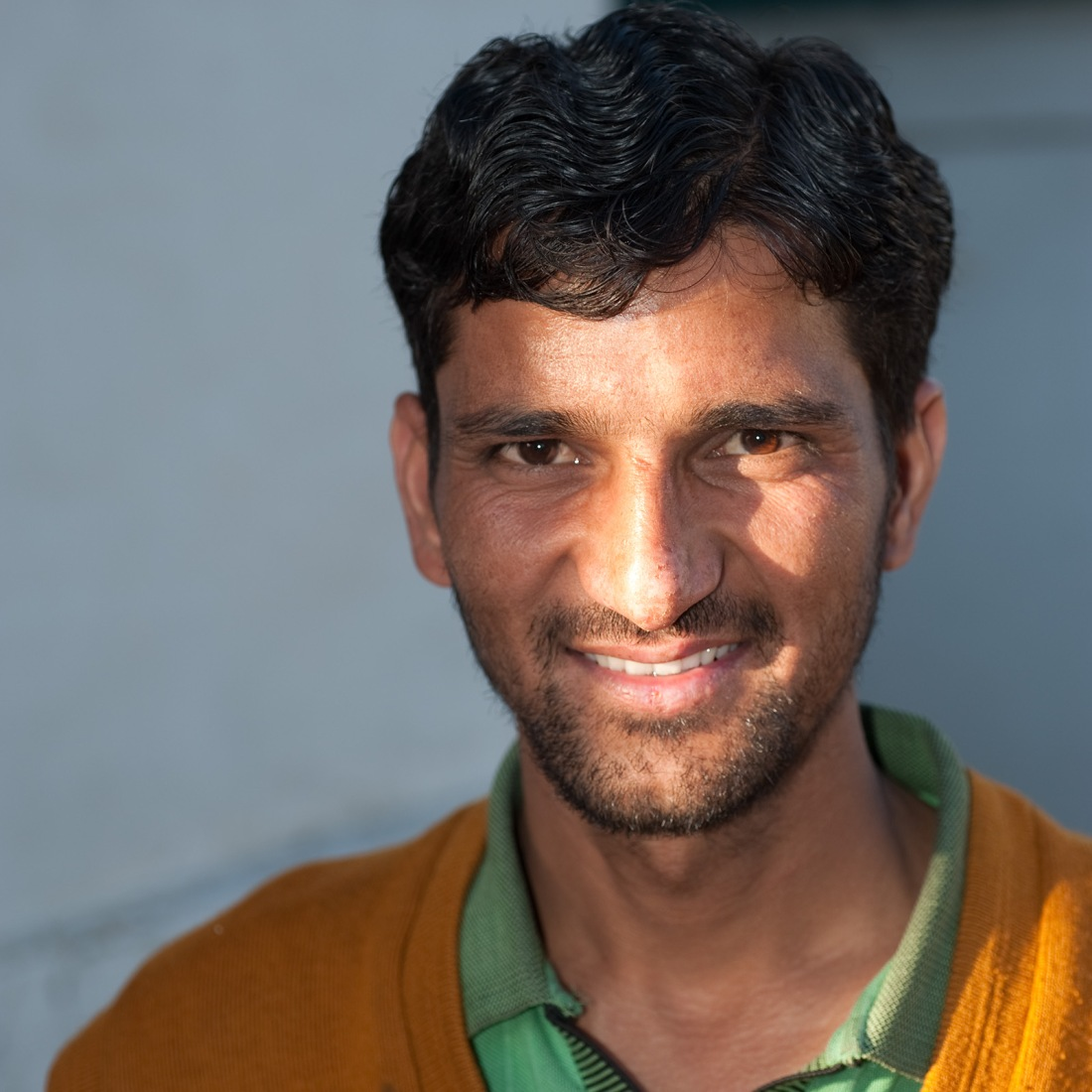 Kushpal, one of our porters, at Ghuttu on our last day.