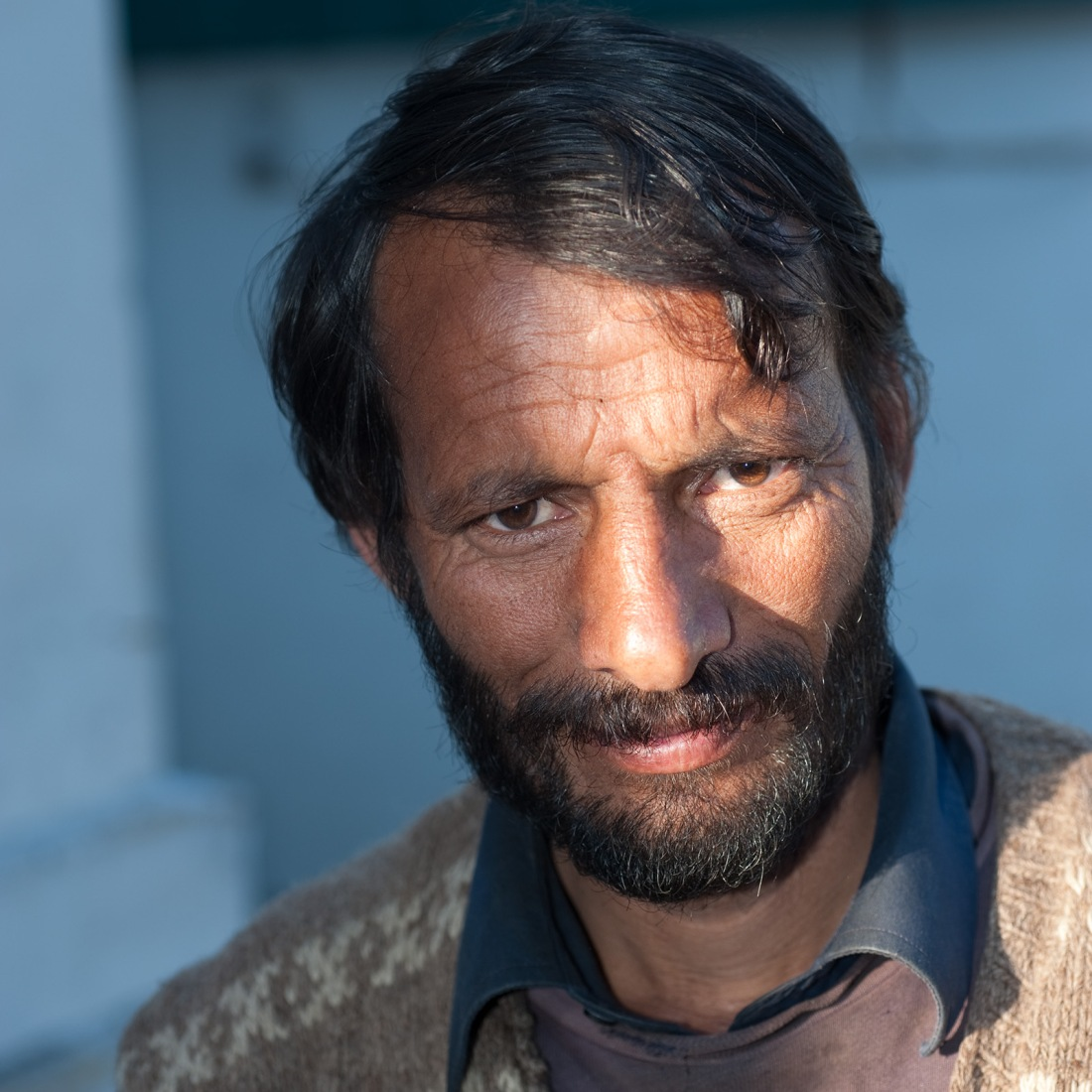 Gajmohan, one of our porters, at Ghuttu on our last day.