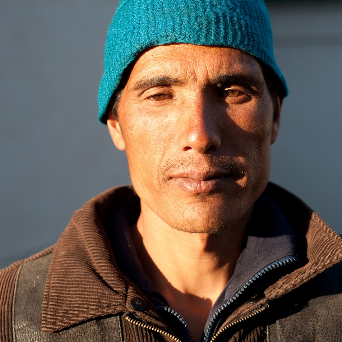 Pardeep, one of our porters, at Ghuttu on our last day.