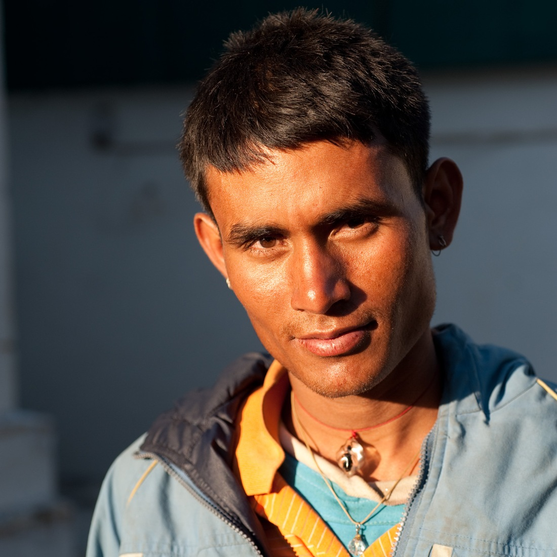Sanju, one of our porters, at Ghuttu on our last day.