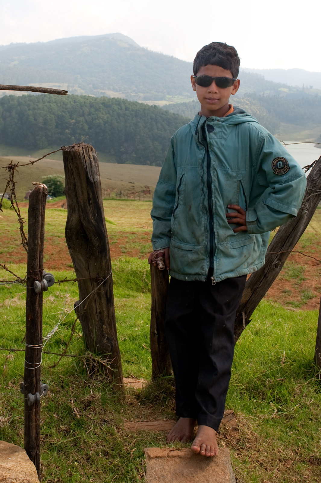 A portrait from a walk in the Nilgiri Hills around Ooty, Tamil Nadu, India